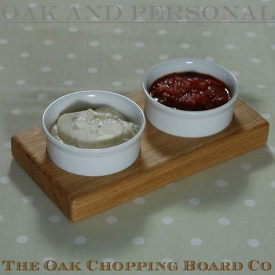 Personalised dips bowl