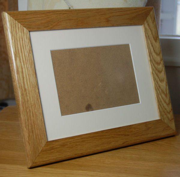 Personalised photo frame, add your own text and/or motif