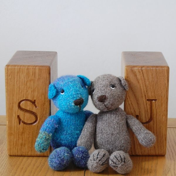 Personalised bookends - great for bears too!