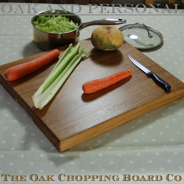Extra large personalised wooden chopping boards