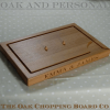 Carving board with spikes, size 30x45x4cm, font Engravers MT