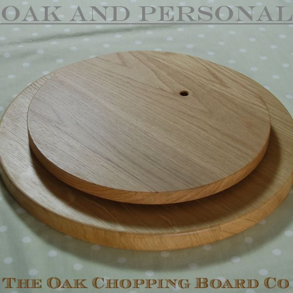 Lazy Susan Platter 38 dia x 2.7cm, underneath may be engraved with special message