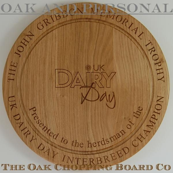 Engraved wooden trophy with wall-mounted option